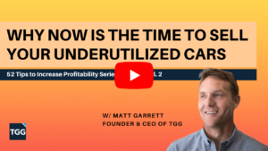 Why now is the time to sell your underutilized cars