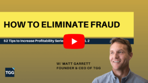 how to eliminate fraud