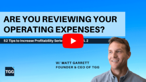 are you reviewing your operating expenses video