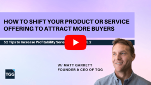 video cover for How to Shift Your Product or Service Offering to Attract More Buyers